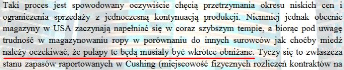 Fragment z 8 strony raportu